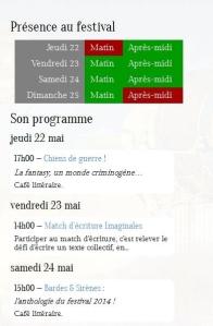 programme imaginales